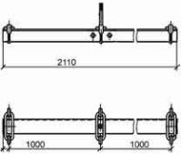 Траверса ТМ-8 (3.407.1-143.8.8) 26 кг