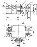 Оттяжка ОТ-5 (3.407.1-143.8.47), 20,5 кг